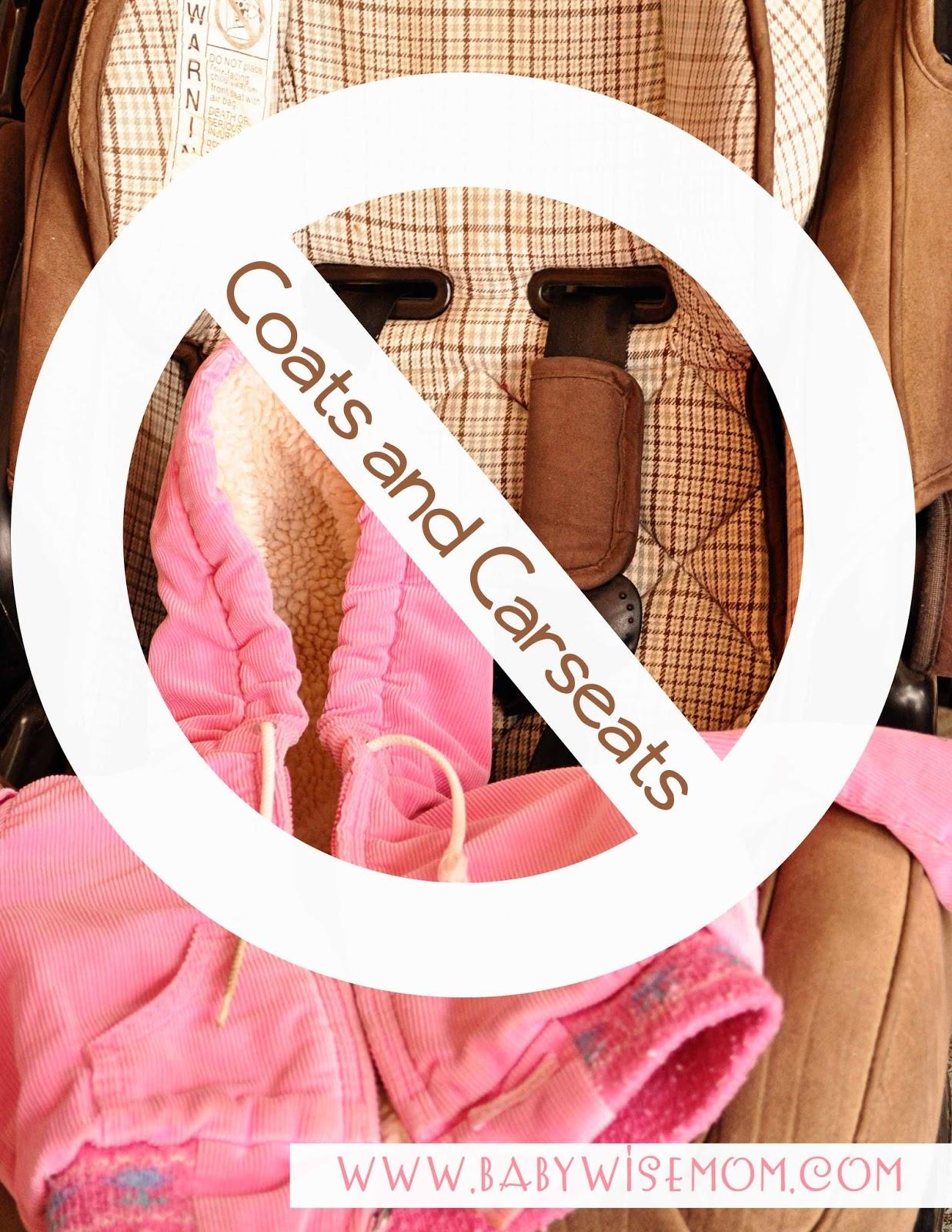 Coats and Carseats {Coat Compression}
