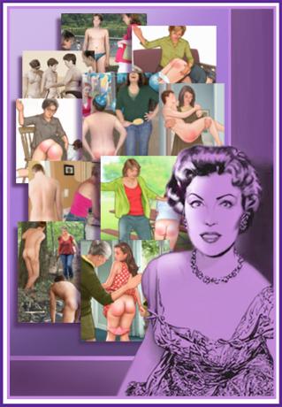 bad spanking art