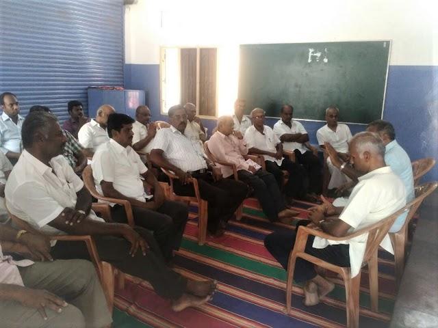 Community leaders' Meet at RSS camp, Dharmapuri