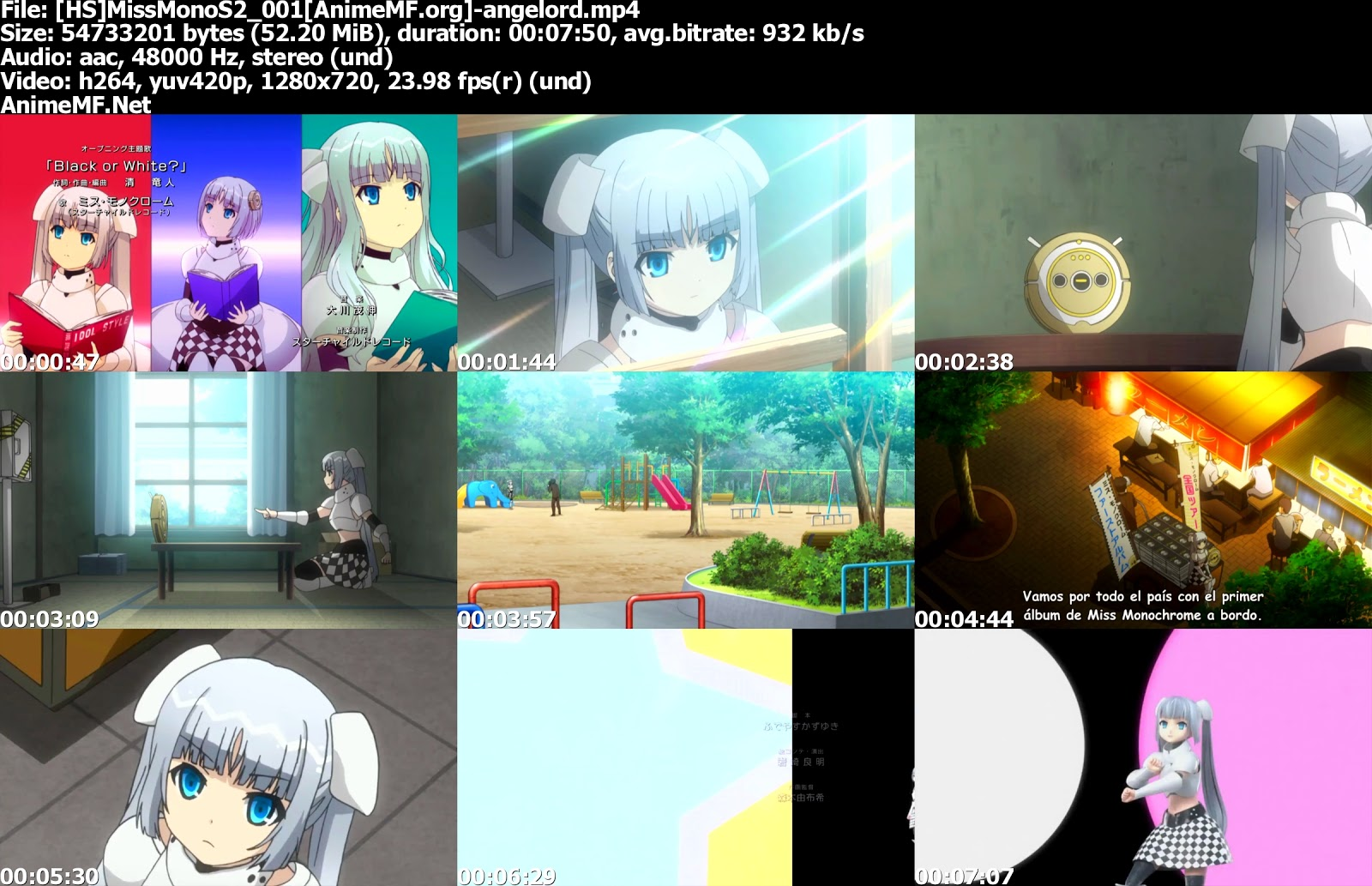 Miss Monochrome: The Animation 2