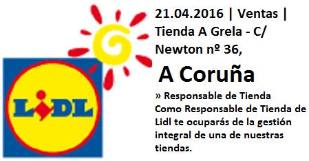 Lanzadera de Empleo Virtual A Coruña, Oferta Lidl