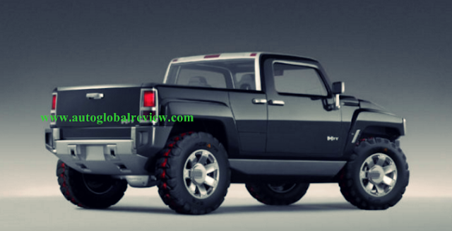 2018 Jeep Hummer H3T Redesign Concepts