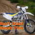 Things to check when my dirt bike is not starting