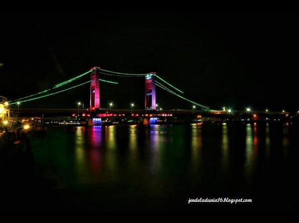 Jembatan Ampera, Objek Wisata Icon Kota Palembang Sumatera Selatan