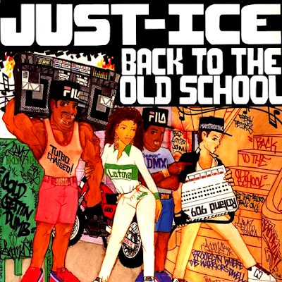 "JUST ICE - BACK TO THE OLD SCHOOL POSTER (16"" X 16"")"