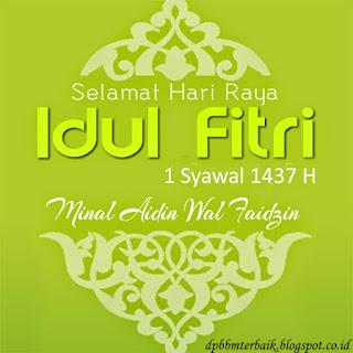 Ucapan Selamat Hari Raya Idul Fitri 1437 H hijau terbaru bikin adem