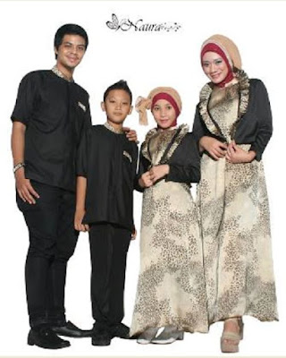 Baju Batik Sarimbit Keluarga untuk Lebaran