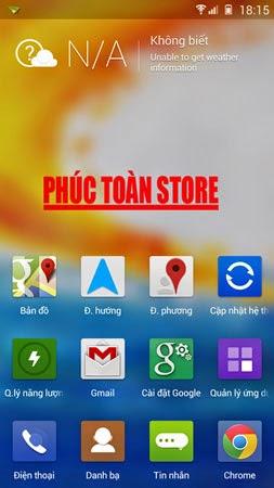 Tiếng Việt Gionee e7 4.2.2 ok alt