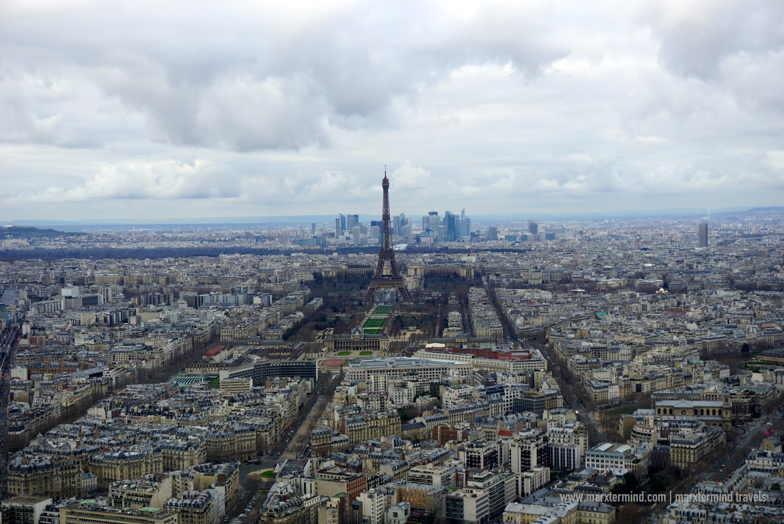 View from Montparnasse Observation Deck