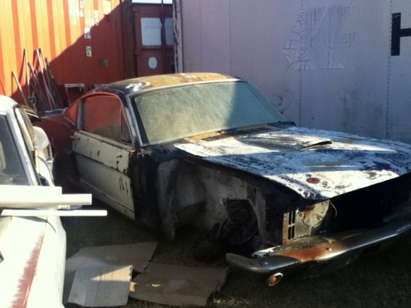 Barn Find 1966 Shelby GT350