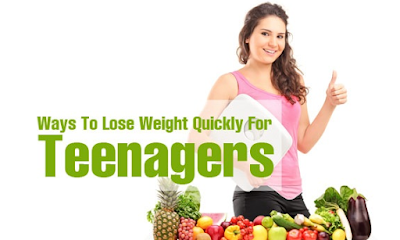 how to lose weight fast for teenage guys