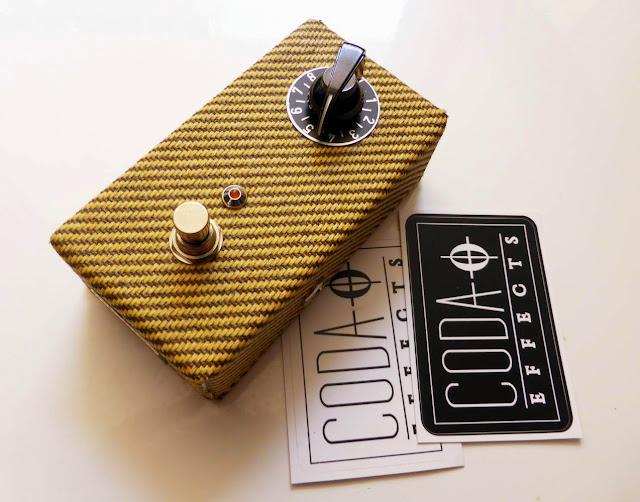 Rub a Dub reverb tweed pedal