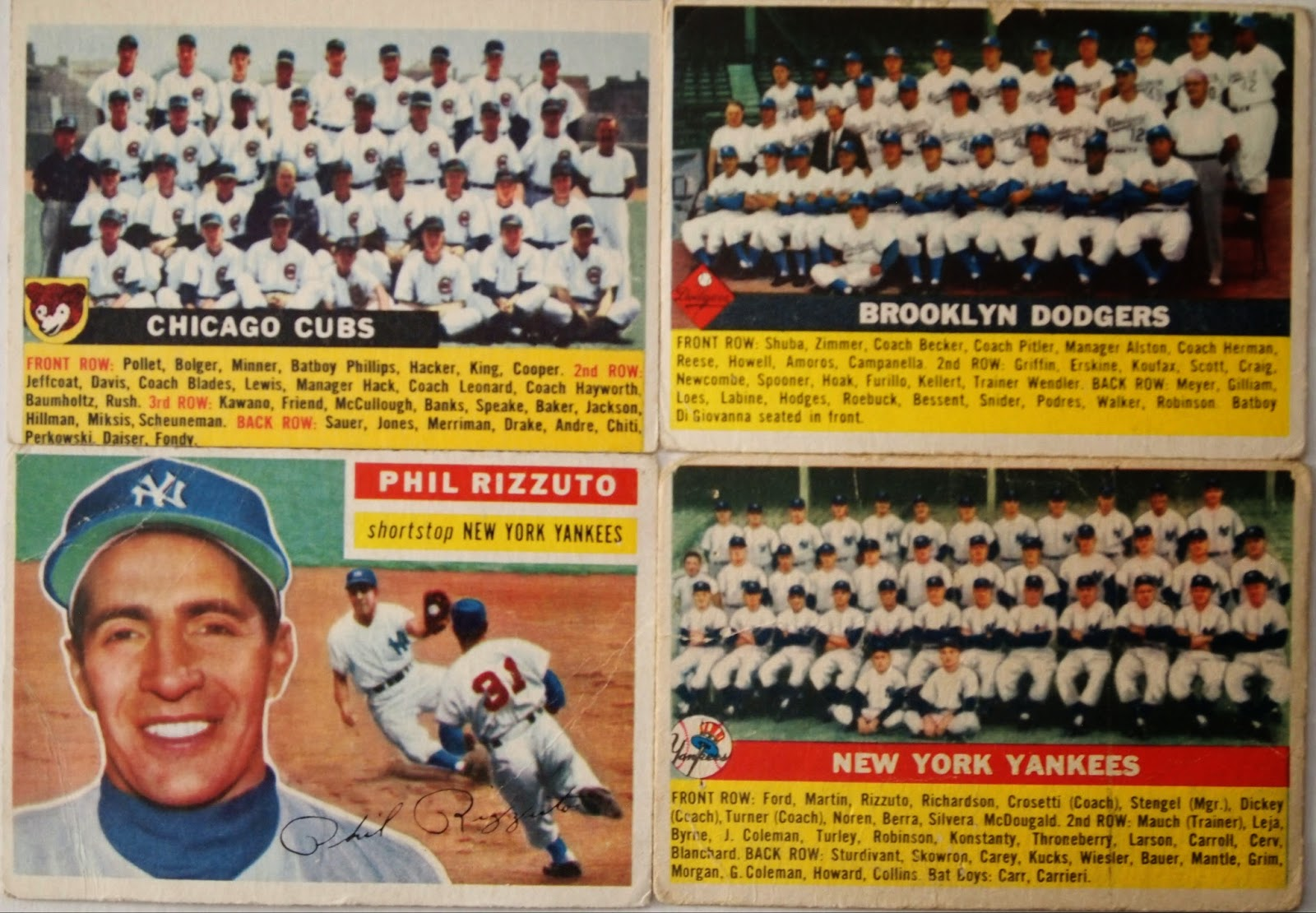 Highly Subjective And Completely Arbitrary Building The 1956 Topps Set