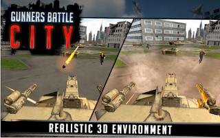 Gunner Battle City Ammo Apk Unlocked all item