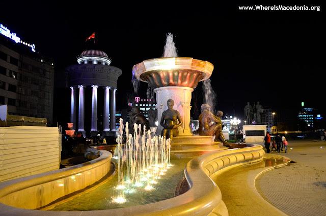Mothers monument - Skopje, Macedonia