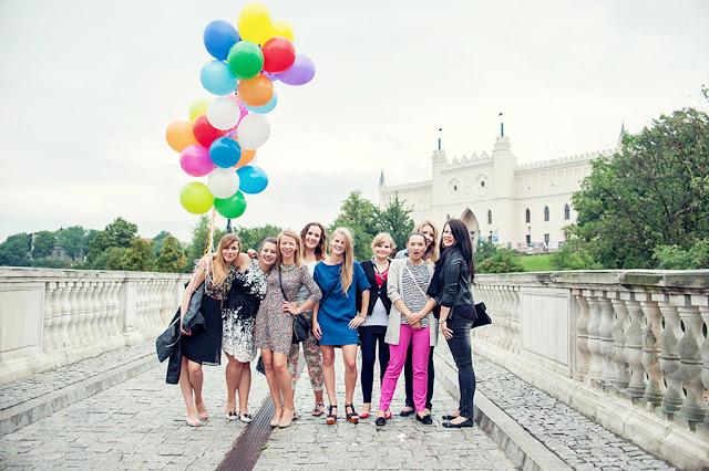 wieczór panieński fotograf Lublin, fotograf ślubny Lublin, sesja plenerowa, sesja kobieca Lublin