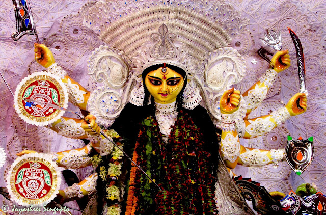Daaker Saaj of Durga Puja