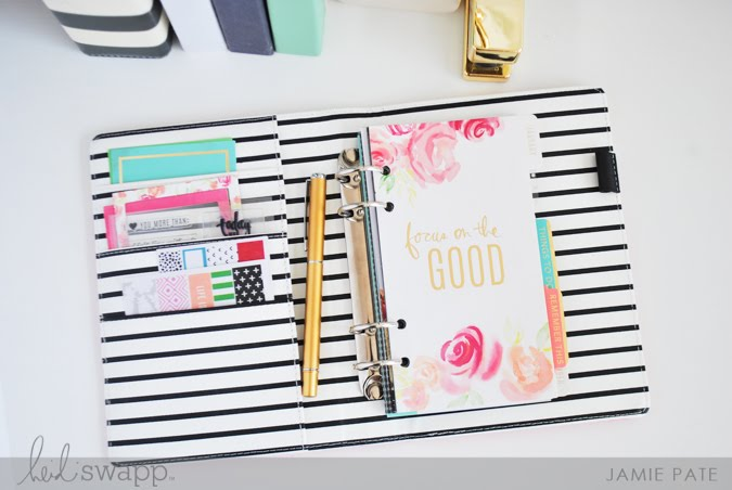 Heidi Swapp Memory Keeping Planner for the Everyday Work by Jamie Pate  |  @jamiepate for @heidiswapp