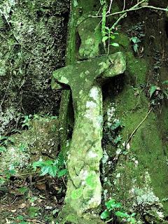 Cruz de Pedra - Pedra da Índia, Candelária (RS)