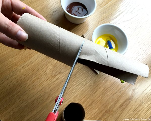 Toilet Roll Giraffe Craft