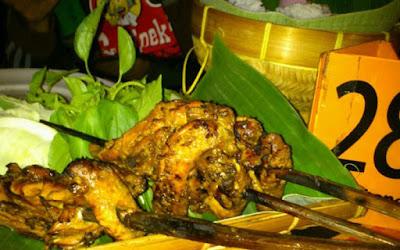 Ayam Bakar Lientang Sawojajar Malang