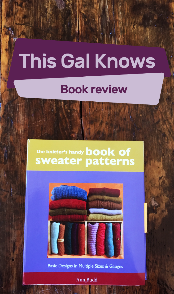 This Gal Knows Book Review The Handy Book of Sweater Patterns