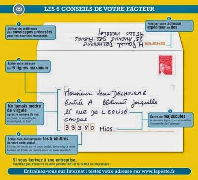 Actu33 Conseils Pour Rediger Une Adresse Sur Une Enveloppe