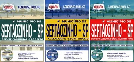 Apostila Concurso Prefeitura de Sertãozinho SP 2018