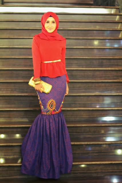 Model Baju Muslim Untuk Pesta Desain Dian Pelangi Terbaru