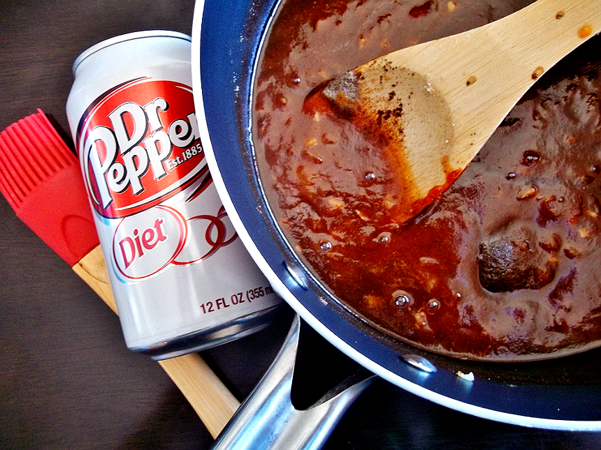 Diet Dr Pepper BBQ Sauce