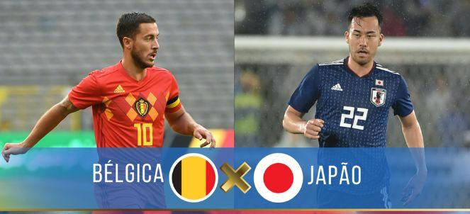 Assistir Jogo BÉLGICA X JAPÃO AO VIVO Copa do Mundo Rússia