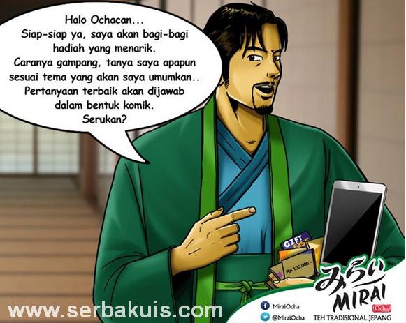 Kuis #MasterOcha Berhadiah Utama iPad Mini