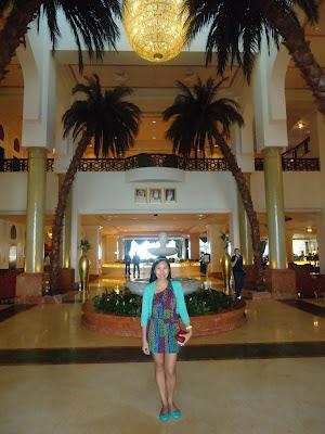 Lobby of Kempinski Hotel Ajman