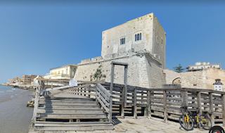 The TV version of the Montalbano mysteries uses locations such as Pozzalo (above), on the Sicilian coast near Ragusa