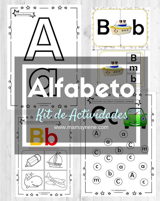 KIDS-NIÑOS-ALFABETO-FREEBIES-IMPRIMIBLES-MAMAYNENE-INFANTIL
