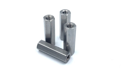 "Custom Stainless Steel Hex Standoffs - 4-40 X .615"" In 18-8 Stainless Steel Material"