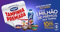 Promoção Tampinha Premiada Danone danonetampinhapremiada.com.br