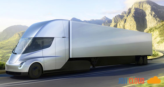 Presenting Future Electric Trucks from Now