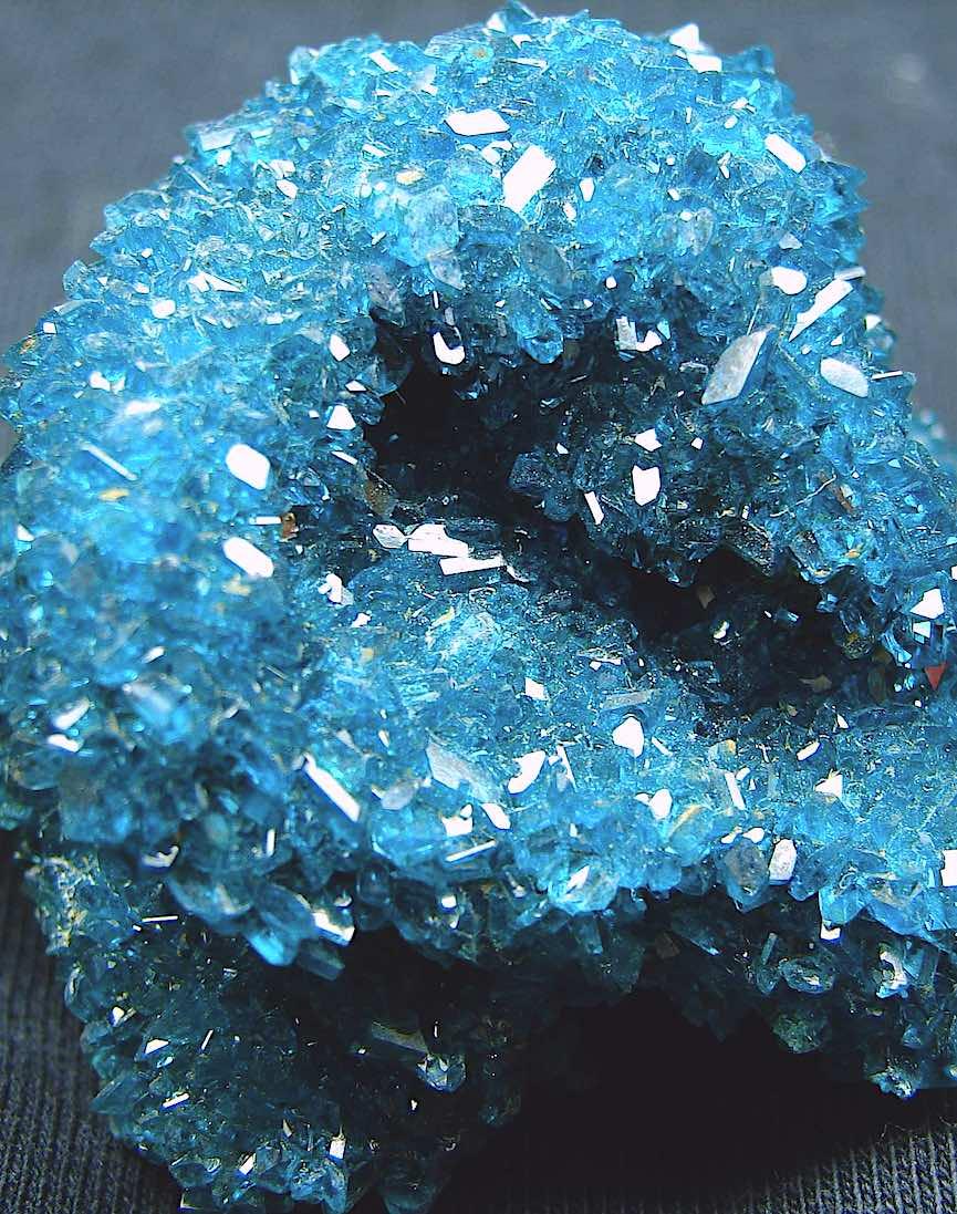 blue Chalcanthite photograph