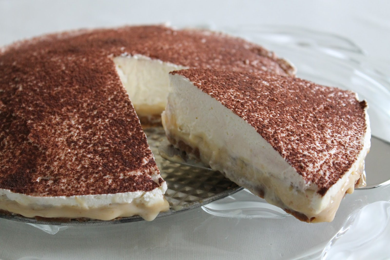 how to make a biscuit base for banoffee pie