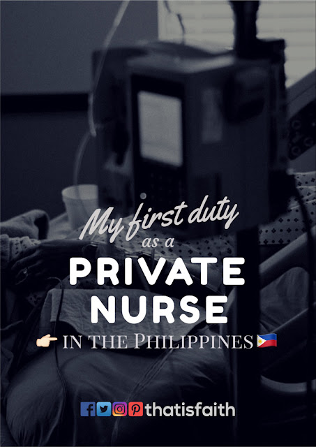 first duty, private nurse in philippines