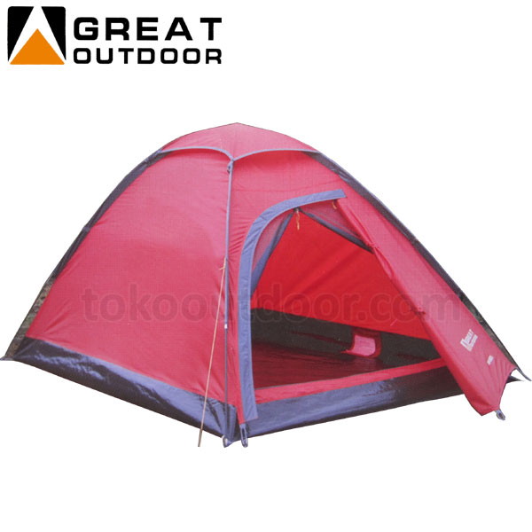Kapasitas 2 Orang : Tenda Great Outdoor Image