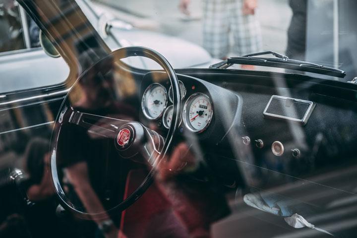 Fiat car interior