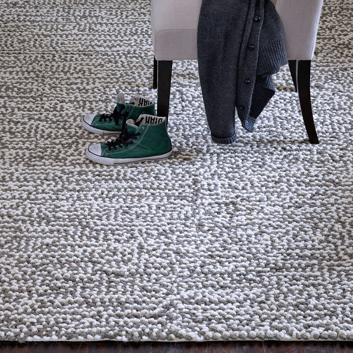 Neutral But Not Boring West Elm Area Rugs Driven by Decor