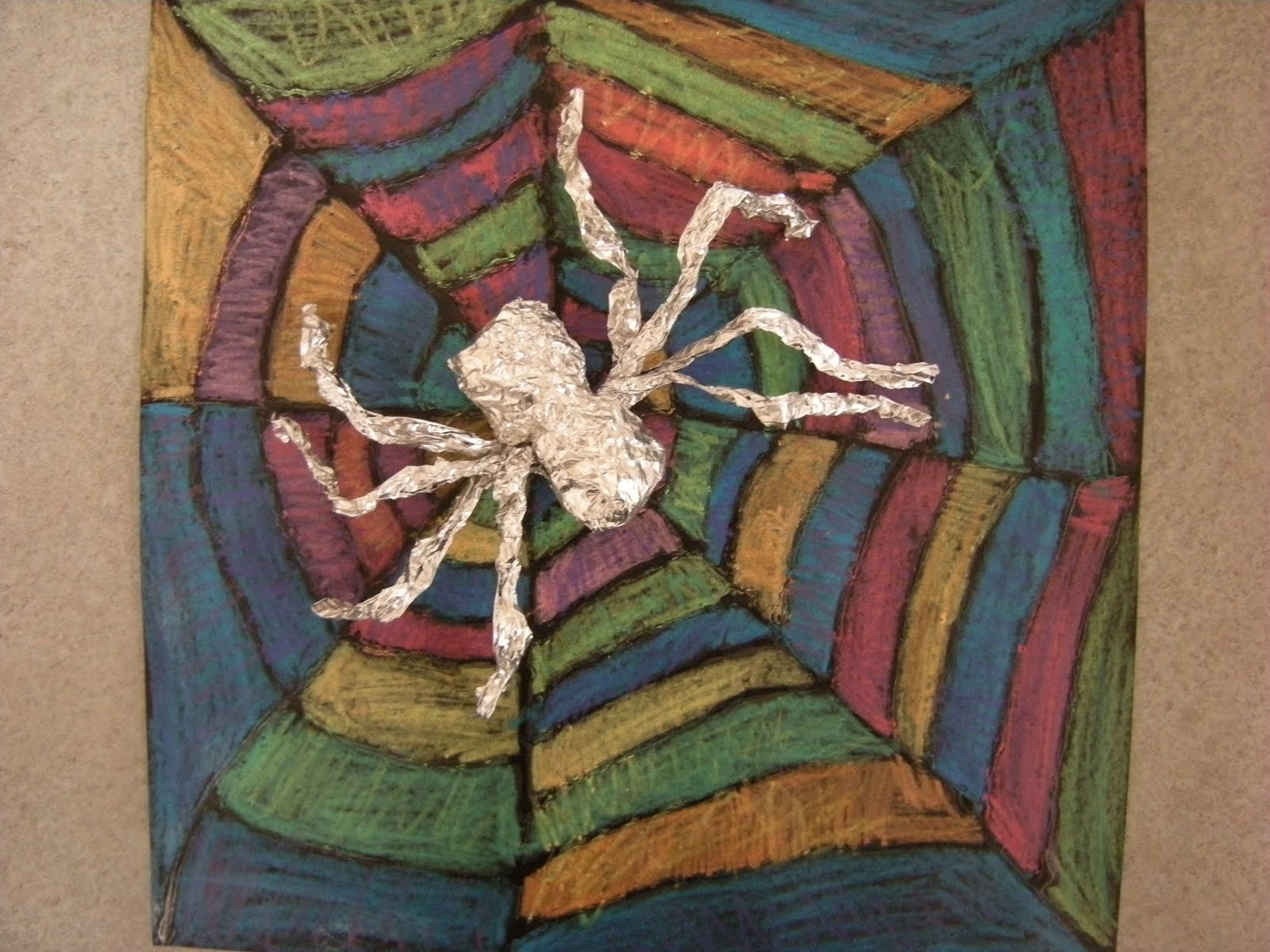 What S Happening In The Art Room Spiders 2nd Grade