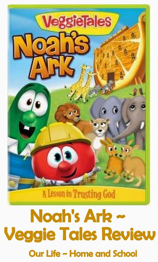 Noah's Ark Veggie Tales ~ Review and $10 Family Christian Certificate Giveaway