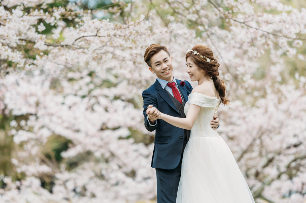 [京都婚紗] Joavian&Benny   日本。京都 (櫻花婚紗)