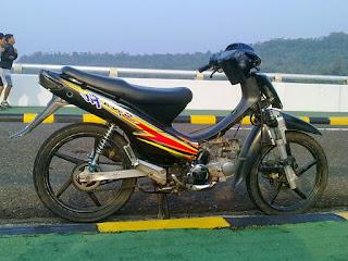 Kumpulan Gambar Modifikasi Motor Supra