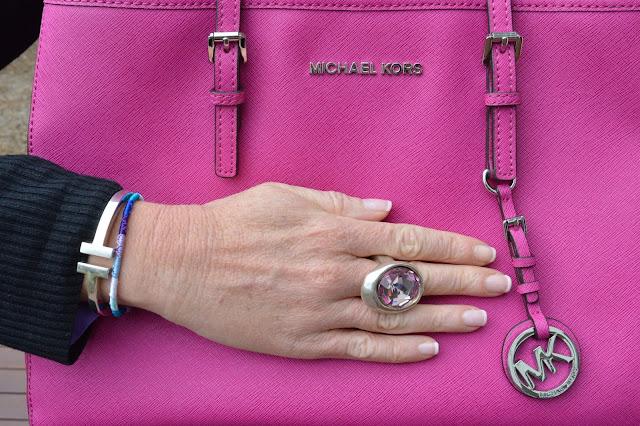 Sydney Fashion Hunter - Whatcha Wearing Wednesday #1 - Perfectly Plaid - Michael Kors Jet Set Tote