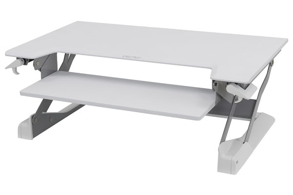 Review Ergotron Workfit T Standing Desk The Test Pit